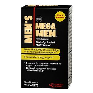 My husband age 34 takes  GNC mega man supplement daily once his doc recommended as he had low vitd3 levels n he felt weak is  it a good supplement?