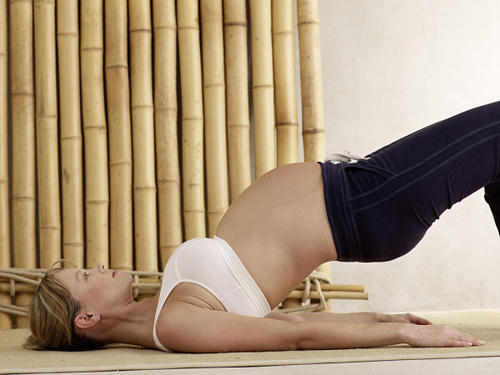 Wt is the best stretching exercise that will make u the most comfortable during pregnancy?