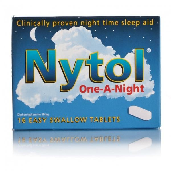 What happens if you mix nytol with alcohol?