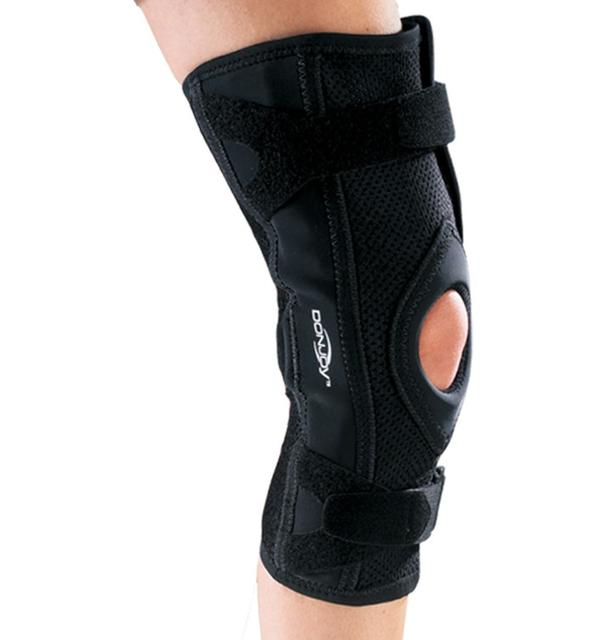 Which type of knee brace is good for someone who has arthritis in the knee?