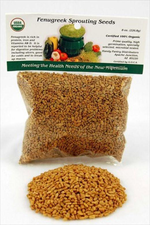 Does crushed fenugreek seeds helps in reducing blood blood sugar levels?