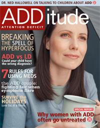 Are there any home remedies that can help to diminish the symptoms of ADHD in adults?