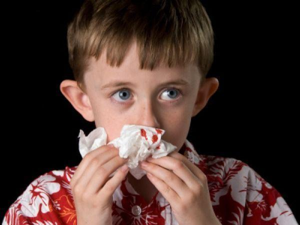 Will frequent nosebleeds be a symptom of behavioral diagnoses in children?