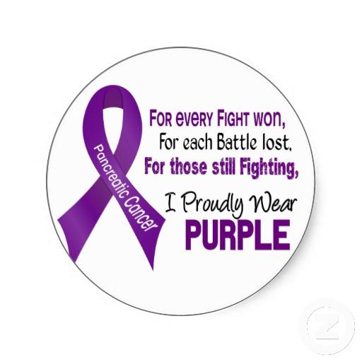 Pancreatic Cancer Awareness Ribbon Color - Doctor answers on HealthTap