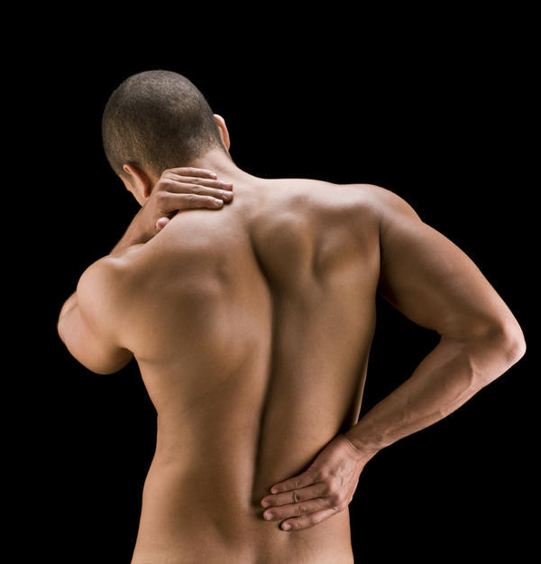 What should I do to help reduce the pain on my disk in my spine?