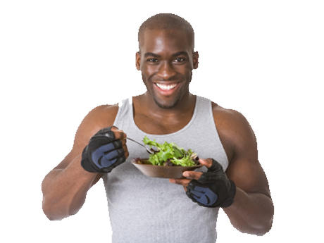 How to maintain a good diet  durig the days going to gym?