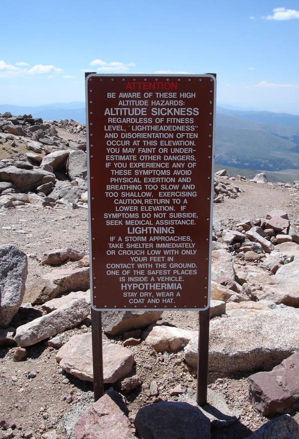 At which heights have people got altitude sickness, curious what the lowest point would be that people know of ?