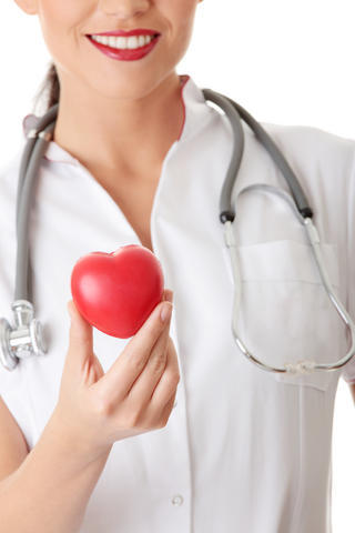 What are the signs when you get a heart attack in a woman in her 40's?