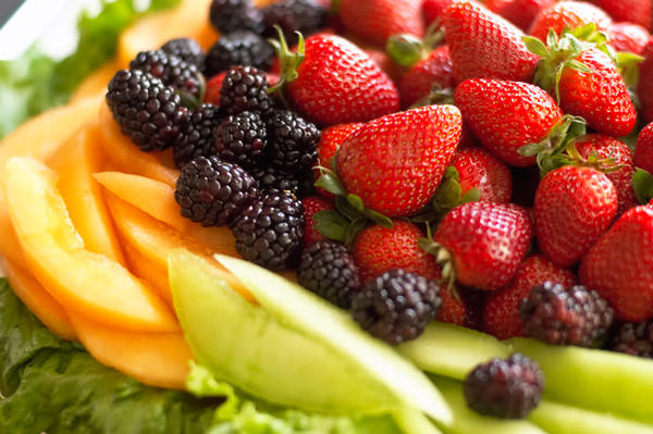 I eat a cup of strawberries, pineapples, grapes, cantaloupe, and honey dew melons mixed together a day. Is it bad to eat a cup of everyday?