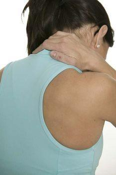 What might lead to a burning pain in my shoulder blade?
