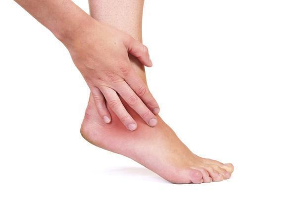What could be some probable causes of acute foot pain in both feet?
