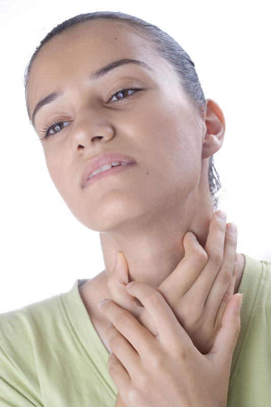 Pain in my throat, only hurts when i cough or  clear my throat and cough, never hurts when i swallow, what can it be.
