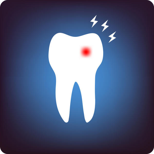 Can you tell whether it's dental caries or gingivitis by how much pain your teeth hurt?