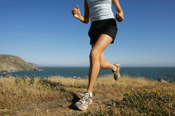 What's a fast way to take care of knee pain after running?