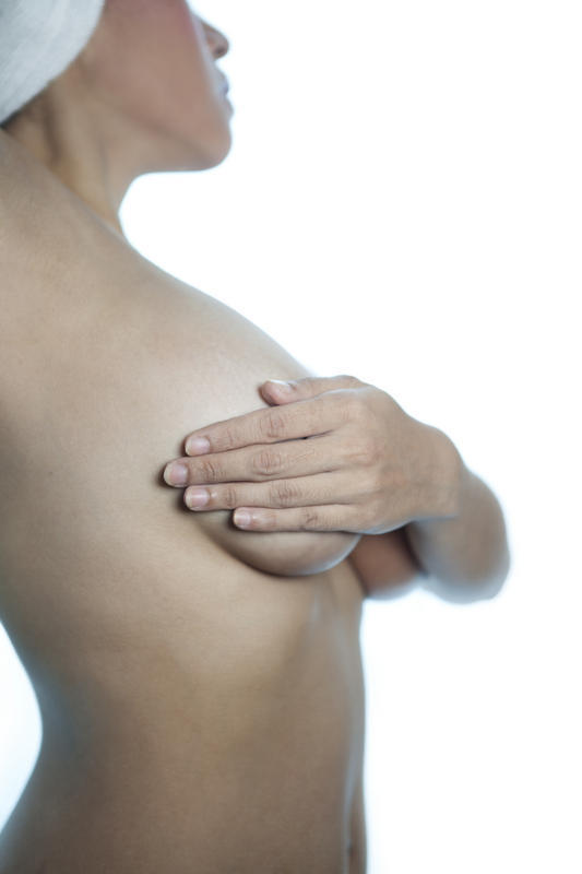 How can we conduct thorough breast self exam?
