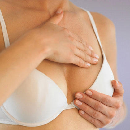 What should I do to relieve breast tenderness?