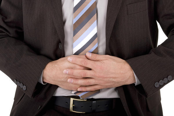 How can I effectively treat an abdominal pain?