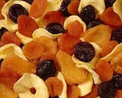 Are dried fruits ok with sick liver?