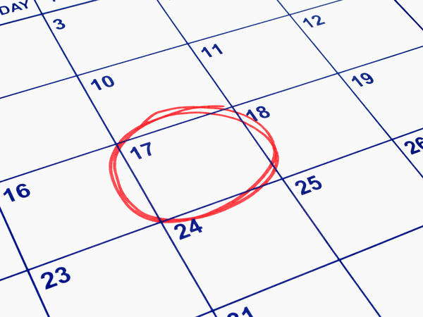 I come on my cycle every month on the 27th. I want a little help finding out what is my menstrual cycle length? When do I ovulate?