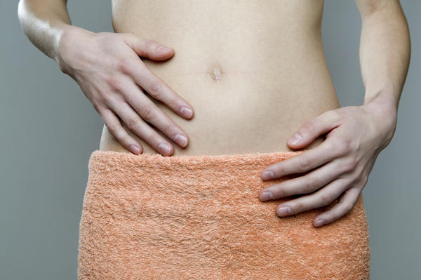 What should I do to reduce bloating from my period.?