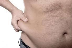 What's an effective way for me to lose love handles and make my stomach less flabby?