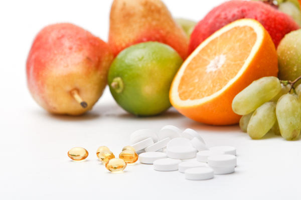 How can I determine if the vitamin C in the tablet is synthetic or not?