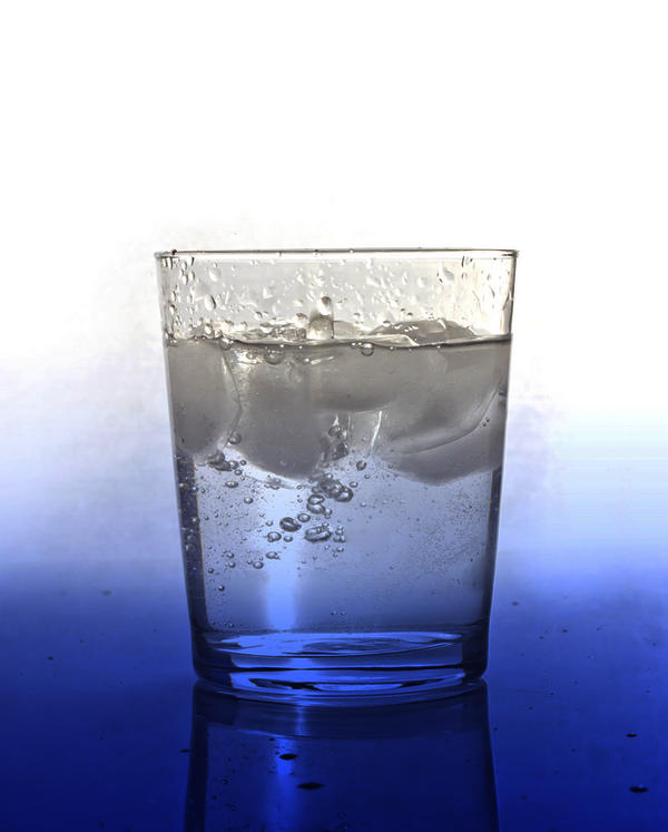 Is drinking cold water after long hours of continuous talking bad?