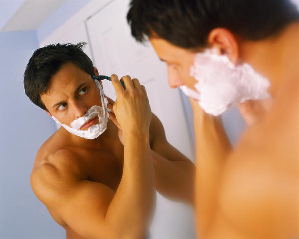 How can you stop getting acne from shaving?