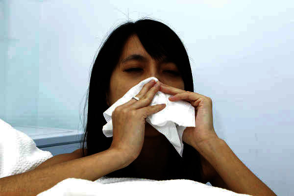 Suggestions, please. How do you get rid of a blocked and stuffy nose?