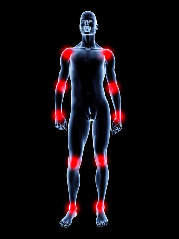 What are the causes of weird joints pain all over arms legs and back?