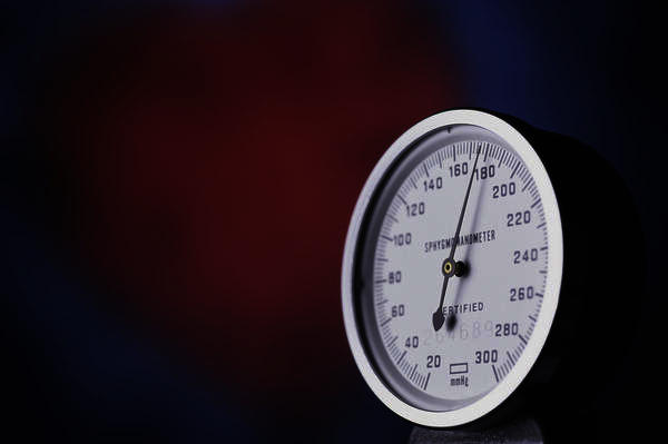 What are the effects of high blood pressure?