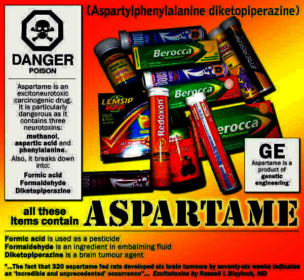 What're the dangers of drinking diet soda with aspartame or splenda?