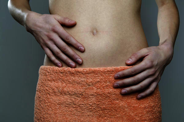 What to if I am not on my period, but i feel bloated. Are there any ways (from home) you can stop this?