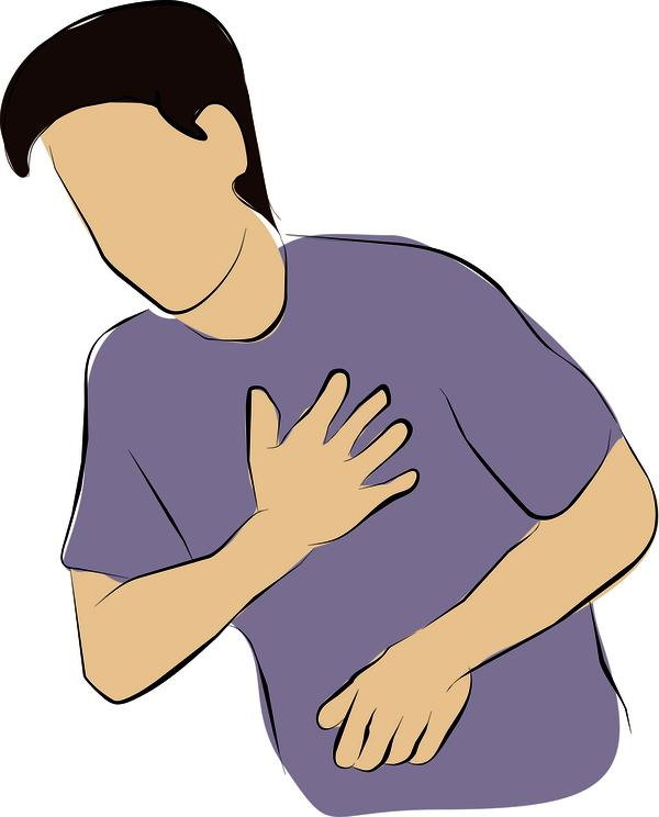 Feeling pain in the left side of chest and back since mornin. Presently BP is 60/105. Is this symptom of heart attack? What should I do to get relief?