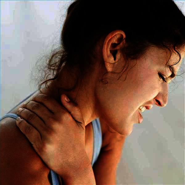 How can you relieve tight shoulders and neck?