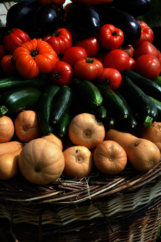Is all food at farmers market's considered organic? What makes something organic?