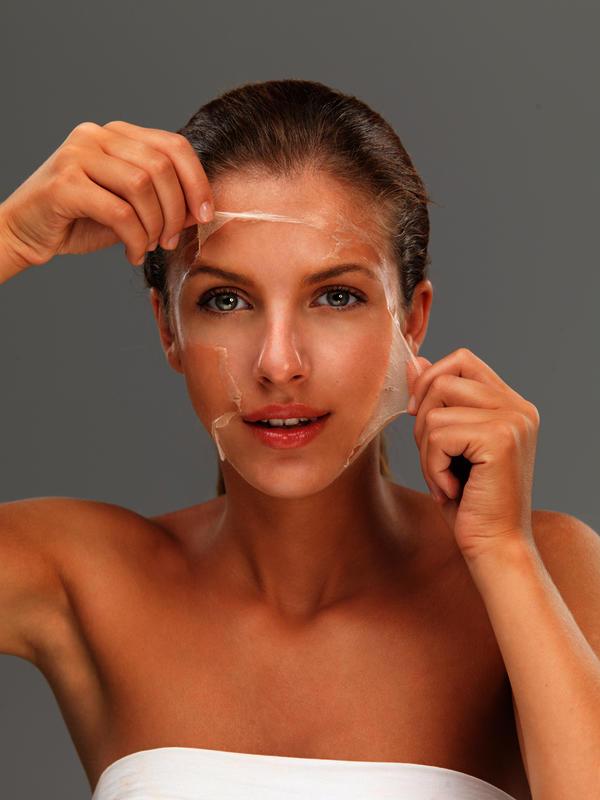 What happens if you peel off sunburnt skin?