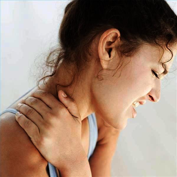 What's best used to take care of a stiff neck?