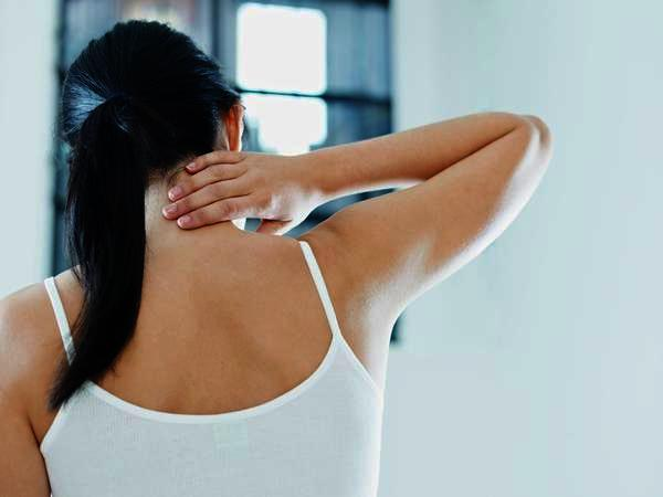 How can I cure a stiff neck?