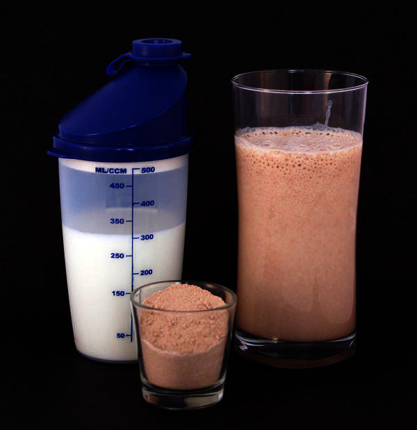 Is it appropriate to take protein powder after a core workout?