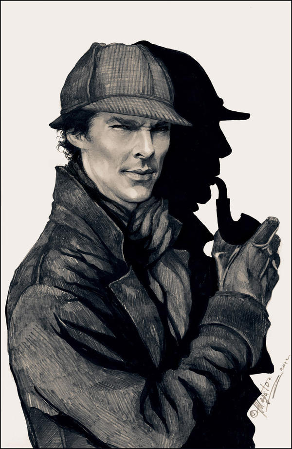 How to make brain to work like sherlock holmes? How can be that much active?