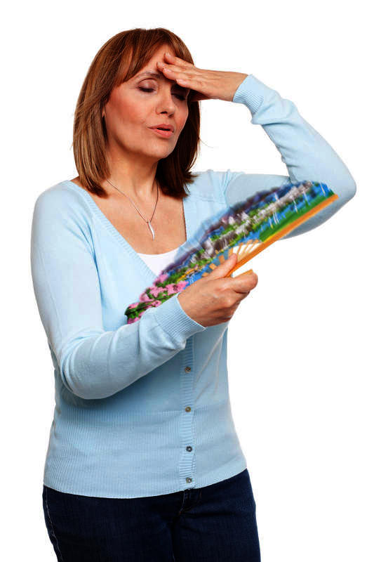 Can a doctor help somebody that is going through menopause? Is there a medication someone can take to help them with hot flashes symptoms are night sweats and hot flashes