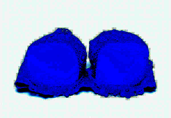 What is a normal age to get blue veins on breasts?