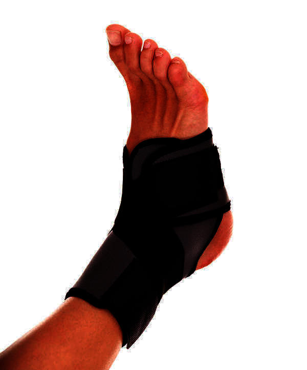 I twisted my ankle on a sidewalk running today. Had immediate sharp pain along the lateral calf all the way to below the knee. Any recommendations?