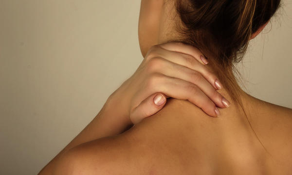 What's the best thing to do for a strained neck muscle?