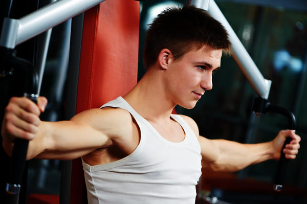 How can I make big my chest muscles and my biceps?
