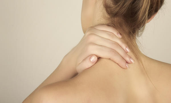 What does a sharp pain running from tricep to neck mean?