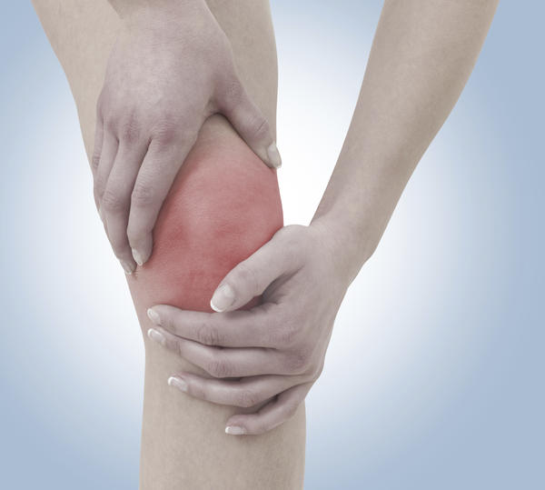 Treatment for a small supra effusion on a knee?