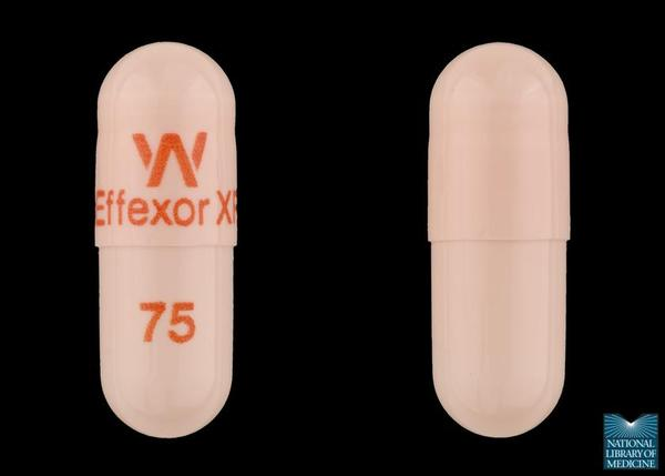 Can Effexor (venlafaxine) work well for helping with depression and do the side effects go away over time?