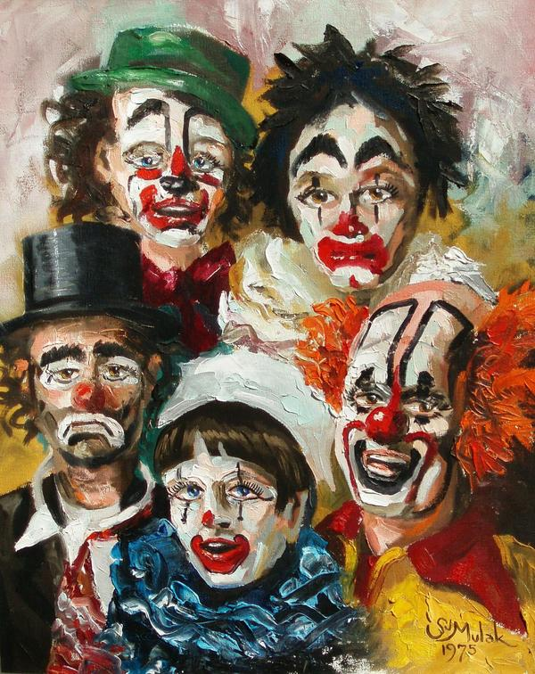 What can I do to get over fear of clowns?